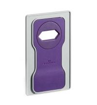 Держатель-подставка на розетку для телефона Durable Varicolor фиолетовый-серый 7735-12