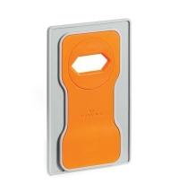 Держатель-подставка на розетку для телефона Durable Varicolor оранжевый-серый 7735-09