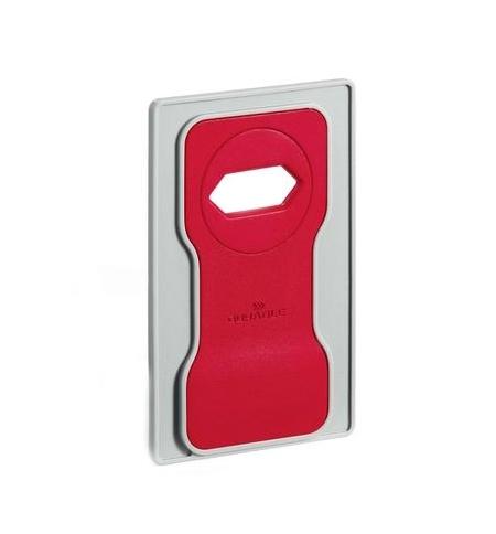 фото: Держатель-подставка на розетку для телефона Durable Varicolor красный-серый 7735-03