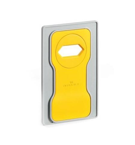 фото: Держатель-подставка на розетку для телефона Durable Varicolor желтый-серый 7735-04