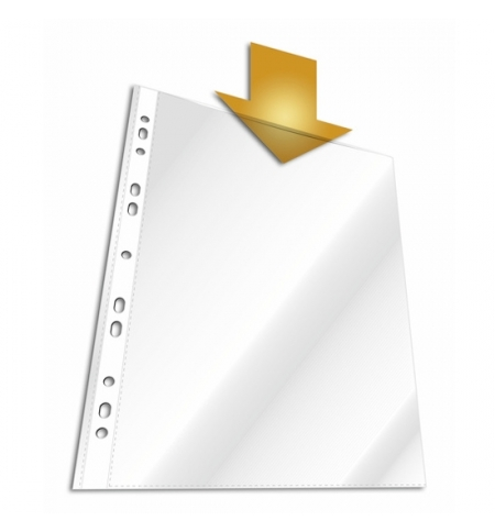 фото: Файл-вкладыш А4+ Durable глянцевый 45 мкм, 100 шт/уп, 2641-19