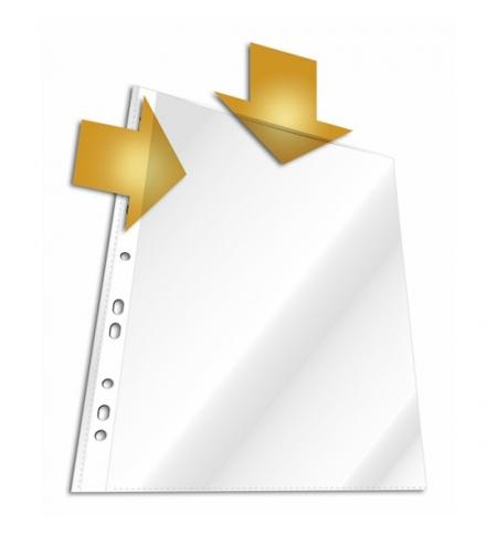 фото: Файл-вкладыш А4 Durable матовый 45 мкм, 10 шт/уп, 2663-19