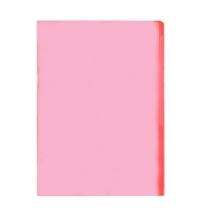 Папка-уголок Durable красная A4, 120мкм, 50 шт/уп, 2312-03