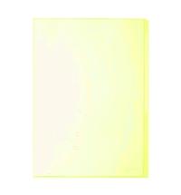 Папка-уголок Durable желтая A4, 120мкм, 50 шт/уп, 2312-04