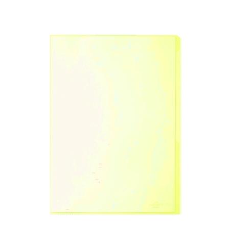 фото: Папка-уголок Durable желтая A4, 120мкм, 50 шт/уп, 2312-04
