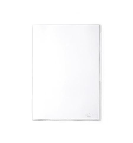 фото: Папка-уголок Durable прозрачная A4, 120мкм, 50 шт/уп, 2312-19