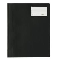 Скоросшиватель пластиковый Durable черный А4+, 2500-01