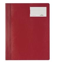 Скоросшиватель пластиковый Durable красный А4+, 2500-03