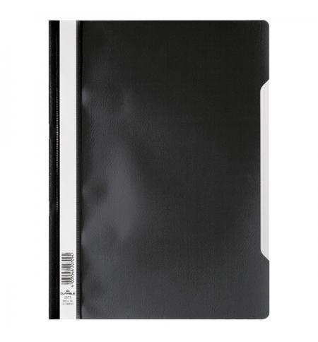 фото: Скоросшиватель пластиковый Durable черный A4, 2573-01