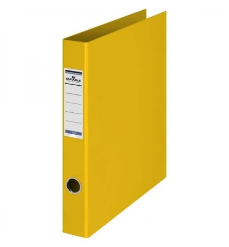 фото: Папка на 4-х кольцах А4 Durable желтая 65 мм, 3160-04