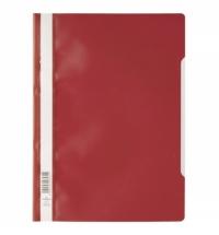 Скоросшиватель пластиковый Durable красный А4, 2573-03