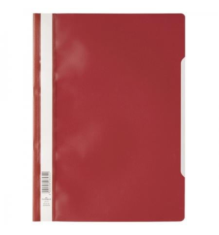 фото: Скоросшиватель пластиковый Durable красный А4, 2573-03