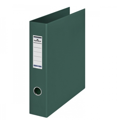 фото: Папка на 4-х кольцах А4 Durable темно-зеленая 65 мм, 3160-32