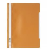 Скоросшиватель пластиковый Durable оранжевый А4, 2573-09