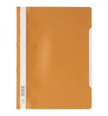 фото: Скоросшиватель пластиковый Durable оранжевый А4, 2573-09