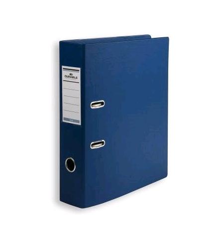 фото: Папка-регистратор А4 Durable 70мм, синяя, 3110-07