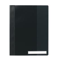 Скоросшиватель пластиковый Durable Clear View черный А4, 2510-01
