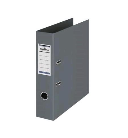фото: Папка-регистратор А4 Durable серая 70 мм, 3110-10