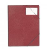 Пластиковая папка на резинке Durable красная A4, до 150 листов, 2320-03
