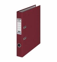 Папка-регистратор А4 Durable бордовая 50мм, 3220-31