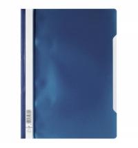 Скоросшиватель пластиковый Durable синий А4, 2573-07