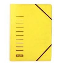 Картонная папка на резинке Durable Visifix зеленая А4, до 200 листов, 24007-03