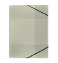 Пластиковая папка на резинке Durable черная A4, до 150 листов, 2322-01