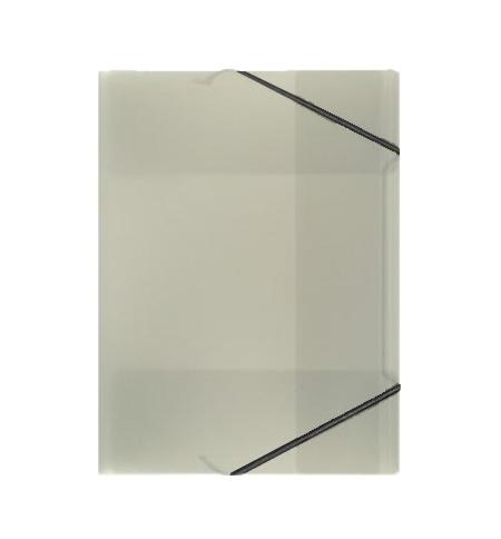 фото: Пластиковая папка на резинке Durable черная A4, до 150 листов, 2322-01