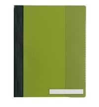 Скоросшиватель пластиковый Durable Clear View зеленый А4, 2510-05