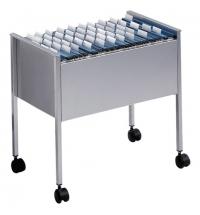 Тележка для подвесных папок Durable серебристая 592х655х368мм, 235587