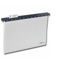 Папка подвесная стандартная А4 Durable серая 2563-10, 25шт/уп