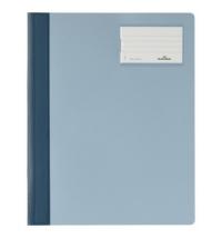 Скоросшиватель пластиковый Durable голубой А4+, 2500-06