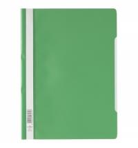 Скоросшиватель пластиковый Durable зеленый A4, 2573-05