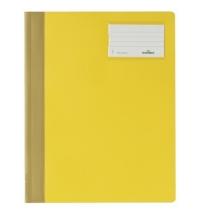 Скоросшиватель пластиковый Durable желтый А4+, 2500-04