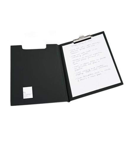 фото: Клипборд с крышкой Durable черный А4, 2357-01