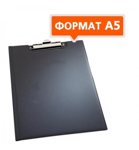 фото: Клипборд с крышкой Durable черный А5, 2359-01