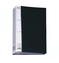 Папка файловая Durable Duralook черная А4, на 50 файлов, 2425-01