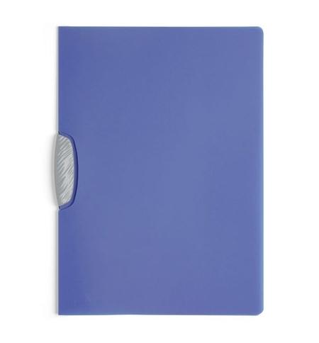 фото: Пластиковая папка с клипом Durable Swingclip Color серо-голубая А4, до 30 листов, 2266-14