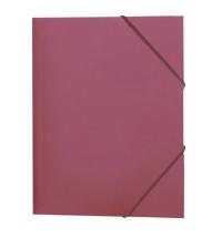 Пластиковая папка на резинке Durable красная A4, до 150 листов, 2322-03