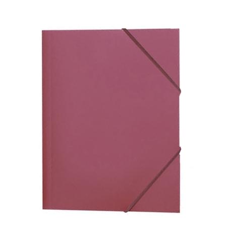 фото: Пластиковая папка на резинке Durable красная A4, до 150 листов, 2322-03