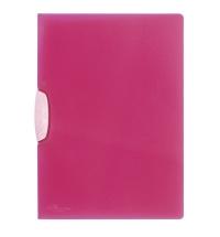 Пластиковая папка с клипом Durable Swingclip Color пурпурная А4, до 30 листов, 2266-35