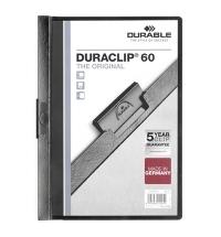 Пластиковая папка с клипом Durable Duraclip ассорти А4, до 60 листов, 2209-01