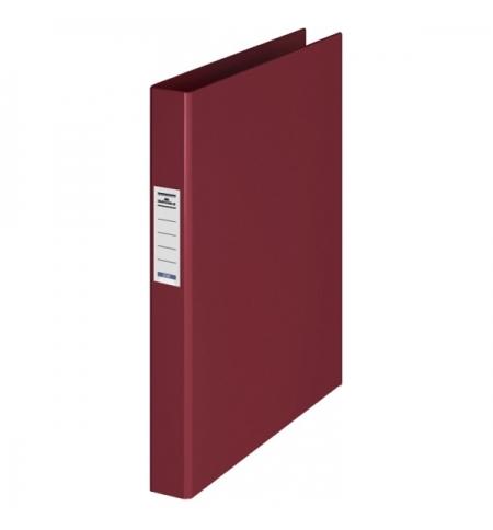 фото: Папка на 2-х кольцах А4 Durable темно-красная 35 мм, 3130-31