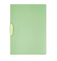 Пластиковая папка с клипом Durable Swingclip Color зеленая А4, до 30 листов, 2266-17