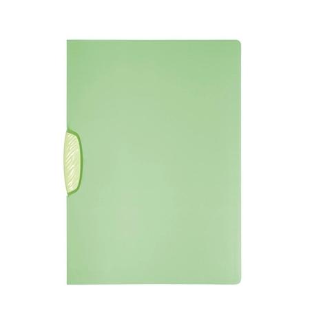 фото: Пластиковая папка с клипом Durable Swingclip Color зеленая А4, до 30 листов, 2266-17