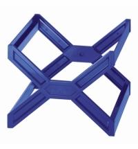 Контейнер для подвесных папок Durable голубой А4, до 30 папок, 2611-06