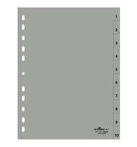 Разделитель листов Durable 10 разделов А4, 6511-10