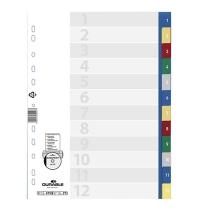 Разделитель листов Durable 12 разделов А4, 6750-27
