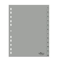 Разделитель листов Durable 12 разделов А4, 6512-10