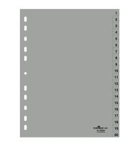 Разделитель листов Durable А4, 20 разделов, 6522-10